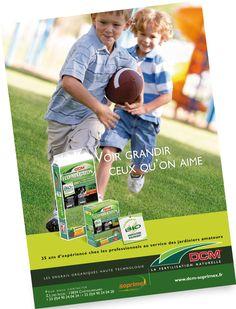 Campagne presse DCM Soprimex Blue Press, Bio, Baseball Cards, Sports, Organic Fertilizer, Grow Taller, Rural Area, Technology, Hs Sports