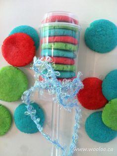 Push-up Pop avec des biscuits au Jello