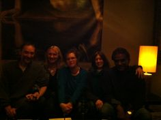 great friends at the Wine Loft.