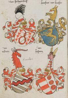 Wappenbuch des St. Galler Abtes Ulrich Rösch Heidelberg · 15. Jahrhundert Cod. Sang. 1084  Folio 59