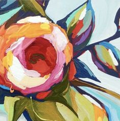 New painting abstract acrylic diy canvas ideas ideas Art Floral, Ink Drawings, Abstract Flowers, Painting Flowers, Painting & Drawing, House Painting, Painting Abstract, Painting Inspiration, Art Images