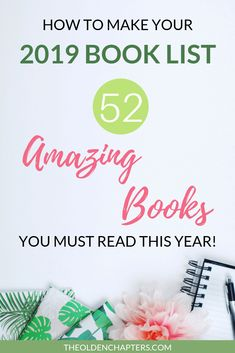 2019 Book List: 52 Amazing Books You Must Read This Year!