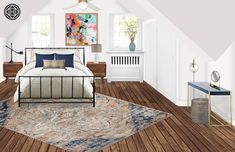 Contemporary, Eclectic, Bohemian Bedroom Design by Havenly Interior Designer Robyn Eclectic Design, Eclectic Style, Eclectic Decor, Eclectic Bedrooms, Interior Design Themes, Bohemian Room, Diy Home Decor On A Budget, Your Space, Design Inspiration