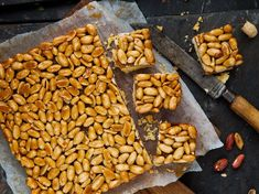 Peanut Caramel Slice Recipe - Viva