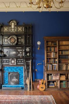 The Erskine family home, Cambo, in Fife, Scotland JAMES MERRELL The most beautiful libraries in stately homes | Tatler Magazine