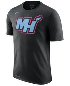 74dfd0f7b6a6 Nike Men s Miami Heat City Team T-Shirt - Black 3XL Nba T Shirts