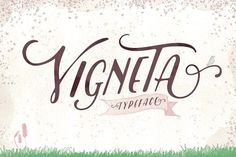Vigneta Typeface by ilhamherry on @creativemarket