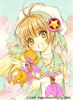 Meu deus, que coisa linda! So cute!!! Sakura Cards Captor <3