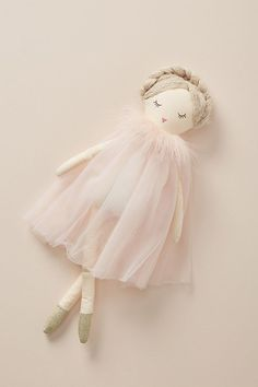 Princess dolls handmade doll - Her Crochet Plush Dolls, Doll Toys, Homemade Dolls, Ballerina Doll, Sewing Dolls, Little Doll, Kewpie, Fabric Dolls, Doll Patterns