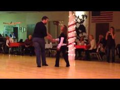 Patty Vo Demo - with Ben Clemons at the OKC Swing Dance Club - YouTube