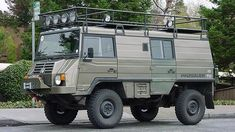 Steyr-Daimler-Puch/BAE Pinzgauer -The Ten Best Vehicles For Exploring The World Van Conversion Campervan, 4x4 Trucks, Diesel Trucks, Lifted Trucks, Ford Trucks, Off Road Camping, Offroader, Bug Out Vehicle, Cool Vans