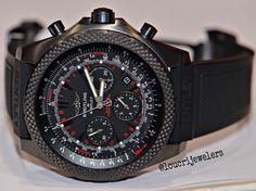 Breitling Bentley Light Body Midnight Carbon