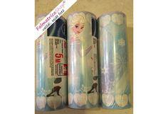 Jégvarázs, Elsa kék bordűr Voss Bottle, Water Bottle, Elsa, Water Bottles
