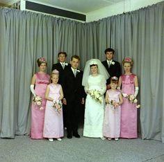 Wedding: Brian J. Pearce/Dale Stewart; 1967. A11-1-2 (A264); (049). 001 | Upper Hutt City Library