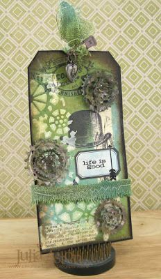 Julia Aston: Tim Holtz 12 Tags of 2016 - May