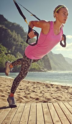 Love TRX--some of the best workouts can be had by just using your bodyweight