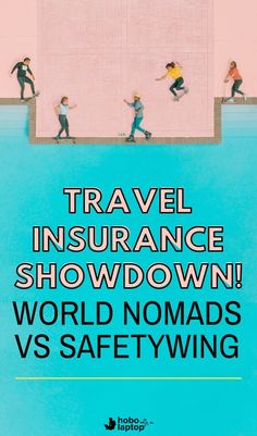 By now, you've heard of the world's two most popular nomad travel insurance options, World Nomads and SafetyWing. Here's a clean breakdown of them both, side by side.  travel insurance best, best travel insurance, travel insurance tips, travel insurane website #travelinsurance #digitalnomad #safetywing #worldnomads