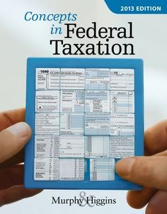 Solution manual for principles of cost accounting 14th edition by you will buy comprehensive instructor solution manual for concepts in federal taxation 2013 edition kevin e murphy 1133189369 complete step by step all fandeluxe Images