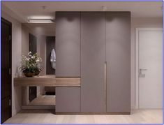 The Most Forgotten Fact About Mudroom Entryway. - The Most Forgotten Fact About Mudroom Entryway. Foyer Design, Hallway Designs, Entry Way Design, House Design, Entrance Design, Hall Design, Wardrobe Door Designs, Wardrobe Design Bedroom, Wardrobe Doors