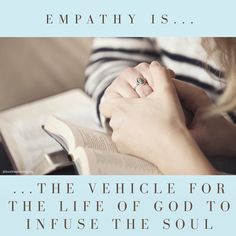 "Empathy is not merely listening — that's only how it starts. To offer empathy to someone is to feel for and with them and then to put words to validate their emotions.  Empathy is active listening. It's #compassion in words: ""It seems you feel disappointed… I understand that this loss leaves you feeling empty… I'm concerned for you, tell me more about your experience…"" #Empathy heals #loneliness, #fear, and #shame."
