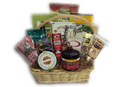 Healthy Gift Basket for Golfer - Deluxe