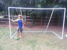 Picture of PVC Soccer Goal 10' x 6' x 4.5'