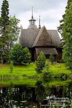 The Petäjävesi Old Church is a wooden church located in Petäjävesi, Finland. It was built between 1763 and 1765. The bell tower was built in 1821. It was inscribed in 1994 on the UNESCO World Heritage List.  (C) Markus Hovikoski / Mac's Photography  Petäjävesi, Finland
