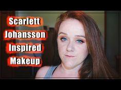 Scarlett Johansson Inspired Makeup Tutorial | RockSand - YouTube