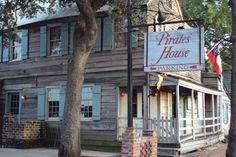The Pirates' House — Savannah, Georgia. Who doesn't love pirates? And Southern comfort food buffets?