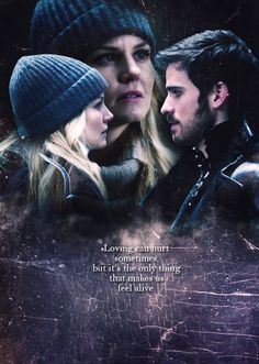 "Captain Swan ""And if you hurt me Well that's ok baby only words bleed Inside these pages you just hold me And I won't ever let you go Wait for me to come home"" - Ed Sheeran, Photograph"