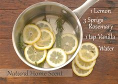 Youve probably seen the recipes for the William Sonoma Scent they are all over pinterest (probably because William Sonoma smells amazing). But I decided to try it out for myself . . . its awesome! LOVE IT!  I let it simmer on low and when the water runs low I just add a bit more. It gives off an amazing subtle scent.