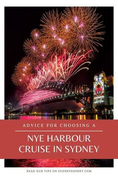 Trying to choose a New Years Eve cruise for the Sydney fireworks shows? These tips will help you sort the good from the not so good. #Australia #sydney