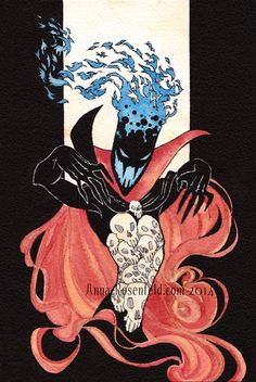 Anna Ink (Demongo (Samurai Jack) – Finished!   He's a little...)