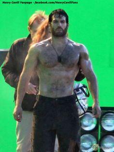 Cain shirtless dean superman