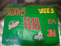 Dale Jr. NASCAR birthday cake - Doing this for my son's 10th Birthday this month!