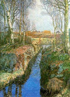 Johannes Heinrich Vogeler (1872-1942), Fine Artist