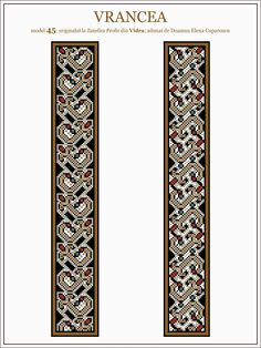 Folk Embroidery, Embroidery Patterns, Cross Stitch Patterns, Hama Beads, Traditional Outfits, Beading Patterns, Pixel Art, Floral Tie, Folk Art