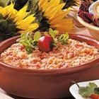 Salsa Rice- Super easy and you can use brown rice so it would be healthier than the spanish rice mixes!!