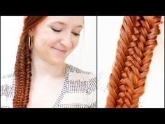 Silvousplaits Hairstyling | Fused Fishtail Braid How To - Silvousplaits Hairstyling