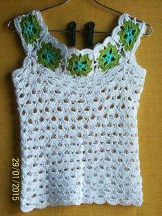 Kate's Crochet World Crochet Bodycon Dresses, Black Crochet Dress, Crochet Blouse, Love Crochet, Crochet Granny, Beautiful Crochet, Diy Crochet, Crochet Crafts, Crochet Hooks