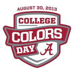 Alabama #alabama #bama #rolltide #collegecolors