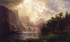File:Albert Bierstadt - Among the Sierra Nevada, California - Google Art Project.jpg