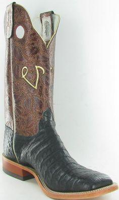 Custom made Olathe cowboy boots.