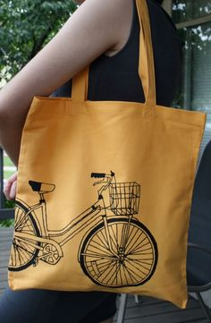 bicycle tote.