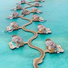 Soneva Jani Resort, Noonu Atoll, Maldives.
