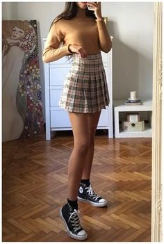 40 Fabulous Outfits for Teenage Girls 2019 Coupon Valid Teenager Outfits, Teenage Girl Outfits, College Outfits, Girly Outfits, Retro Outfits, Cute Casual Outfits, Skirt Outfits, Summer Outfits, Teenager Girl