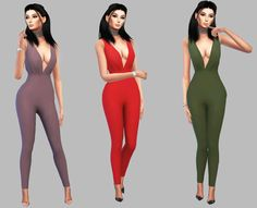 Akimbo Jumpsuit • CAS Standalone Recolor  • Custom Thumbnail  • 30 Colors  Mesh credits to @christopher067 - * You Need This Mesh ** Download * - SFSIf you use it tag @simply-simming
