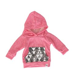 pink baby hoodie, pink and grey hoodie, baby girl hoodie, baby jogger outfit, baby girl sweatshirt, modern baby clothing by ShopLuluandRoo on Etsy https://www.etsy.com/listing/208271065/pink-baby-hoodie-pink-and-grey-hoodie