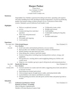 Bar Staff Resume Template  http resumesdesignbarstaffresumetemplate