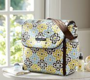 I am a diaper bag addict! Love this print!!- Petunia Pickle Bottom Buenos Aires Boxy Backpack